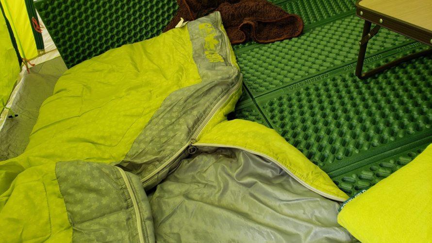 ベランダでソロキャンプなるものを実行。