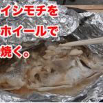 銚子で釣りデビュー。その4 イシモチをホイル焼きで食べる。