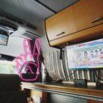 トイファクトリーの中古キャンピングカー(ハイエースバンコン)納車&紹介その3 PCモニター取付け編。