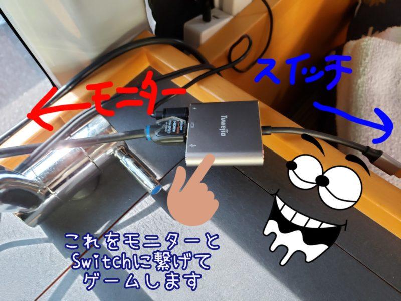 USB Type c HDMI アダプタ Tuwejia usb